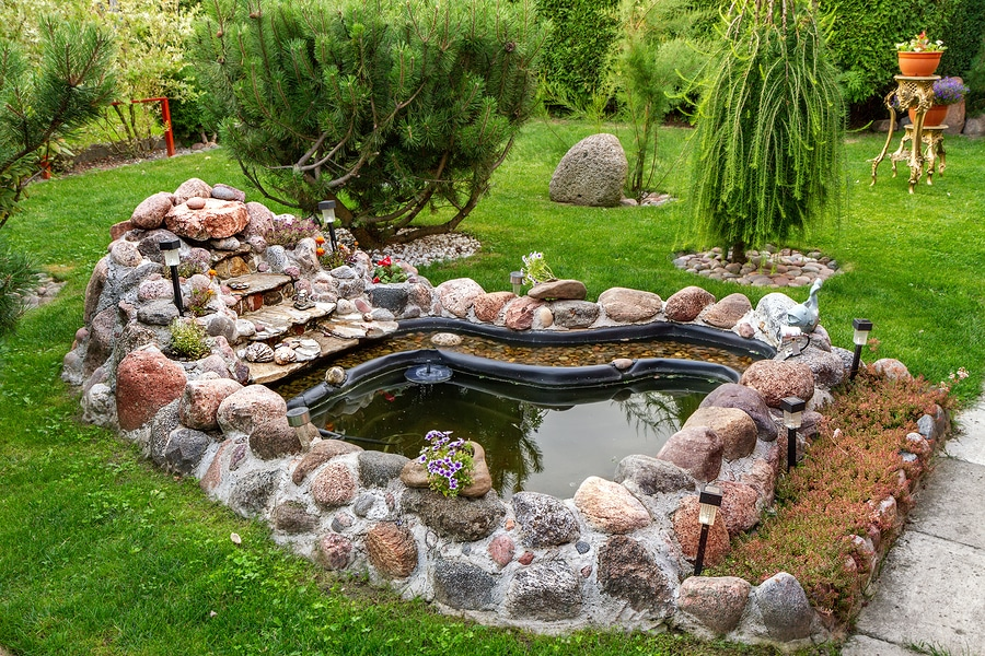 Deciding where to place fountains in your yard
